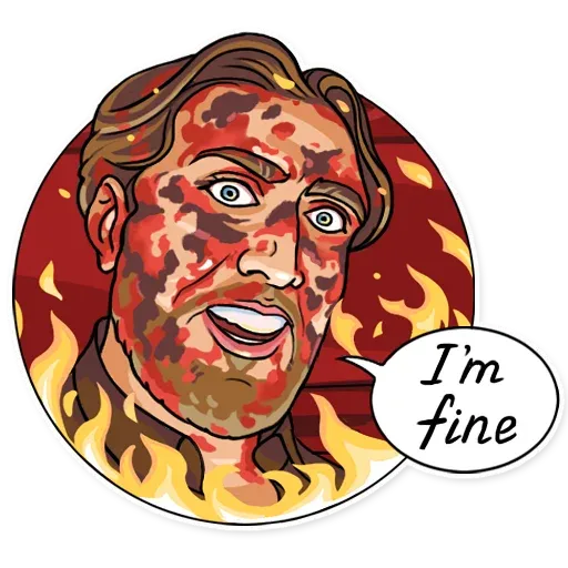 Nicolas Cage - Sticker 19