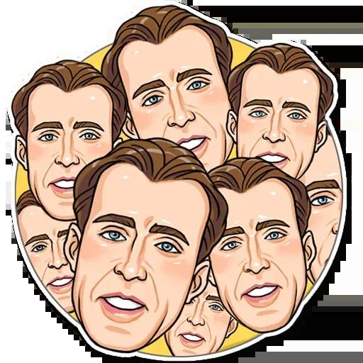 Nicolas Cage - Sticker 14