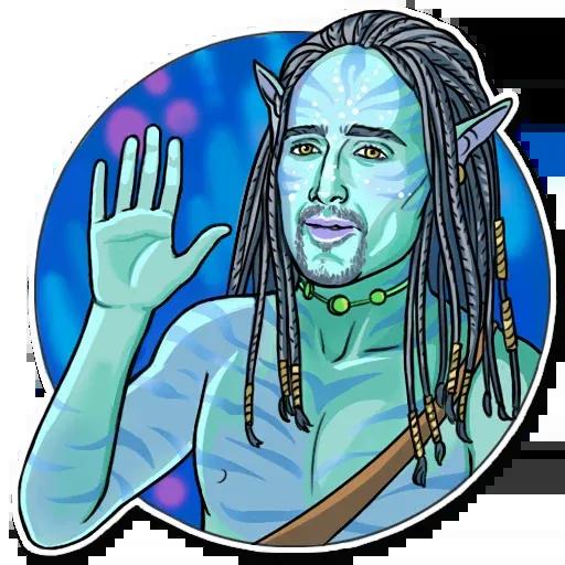 Nicolas Cage - Sticker 25
