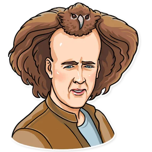 Nicolas Cage - Sticker 13