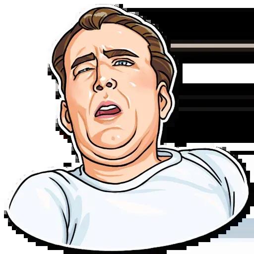 Nicolas Cage - Sticker 17