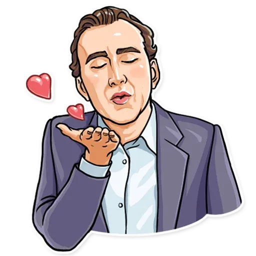 Nicolas Cage - Sticker 2
