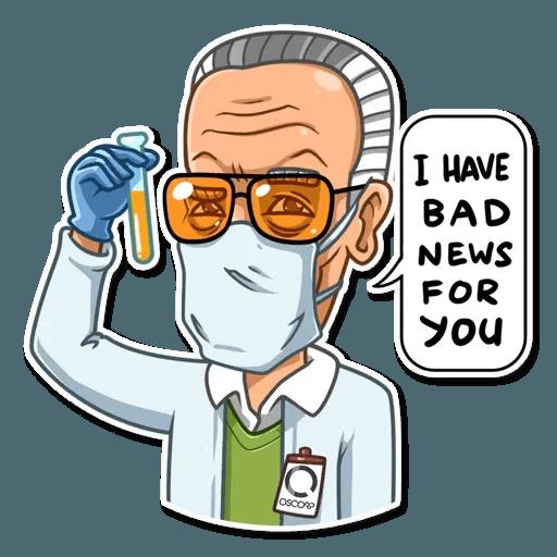Stan Lee - Sticker 16