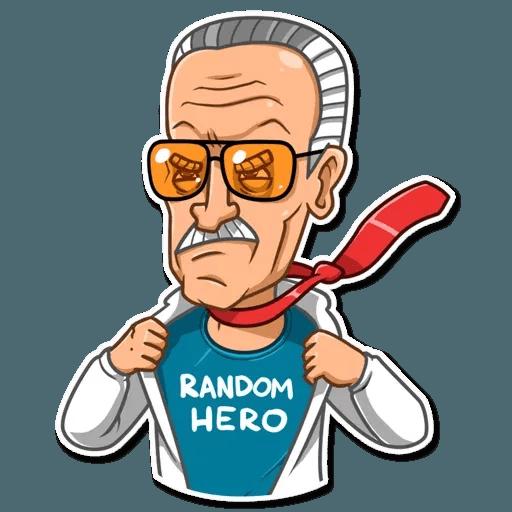 Stan Lee - Sticker 26