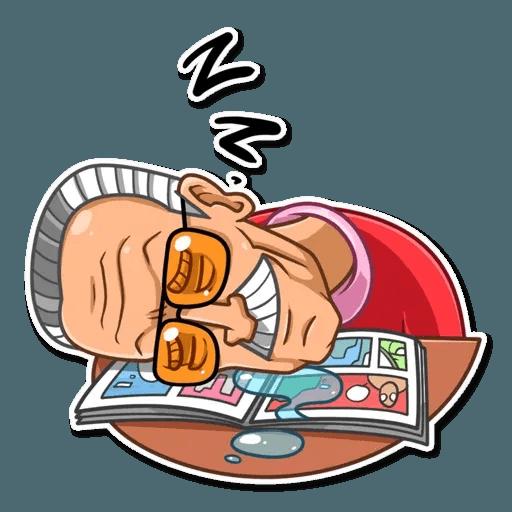 Stan Lee - Sticker 17