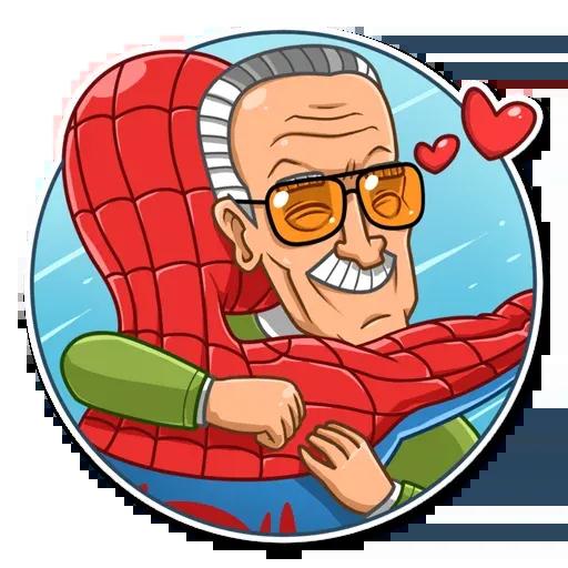 Stan Lee - Sticker 28