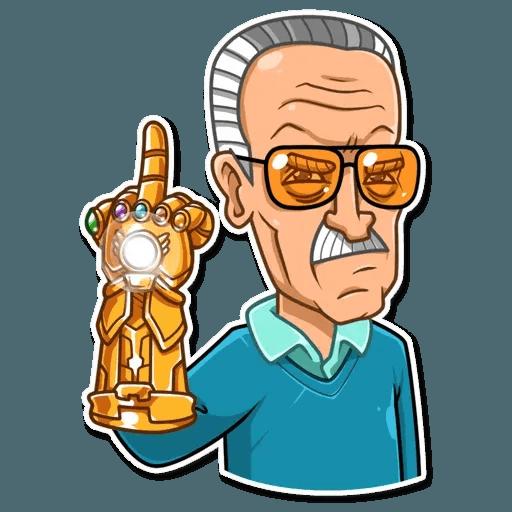Stan Lee - Sticker 13