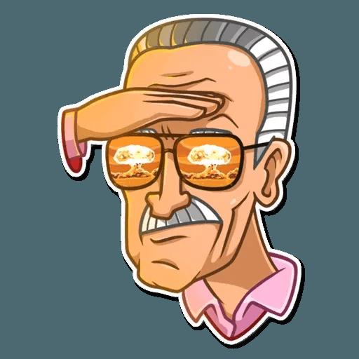 Stan Lee - Sticker 15