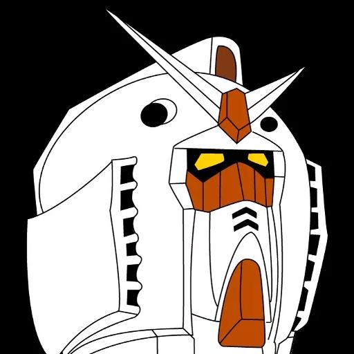 Gundam - Sticker 23