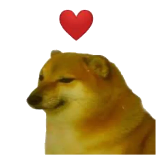Doggo doing things - Sticker 22