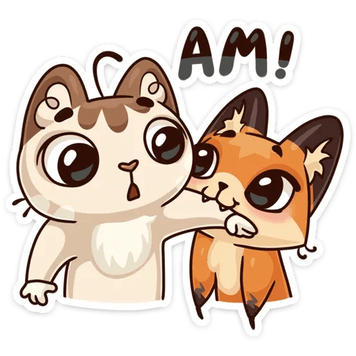 Luna the fox - Sticker 11