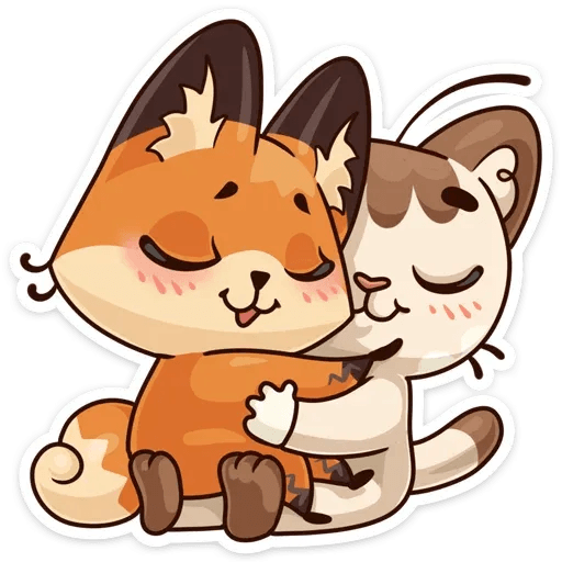 Luna the fox - Sticker 6