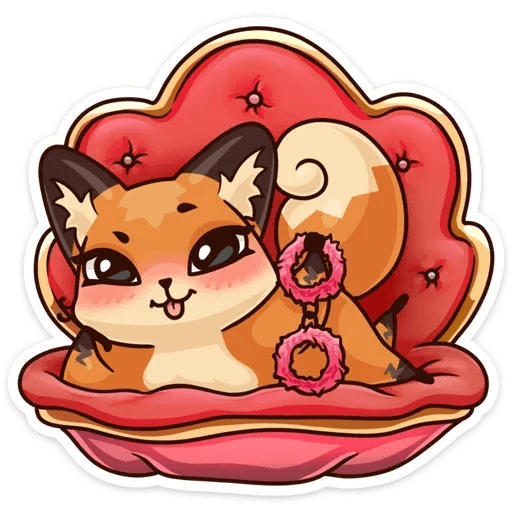 Luna the fox - Sticker 10