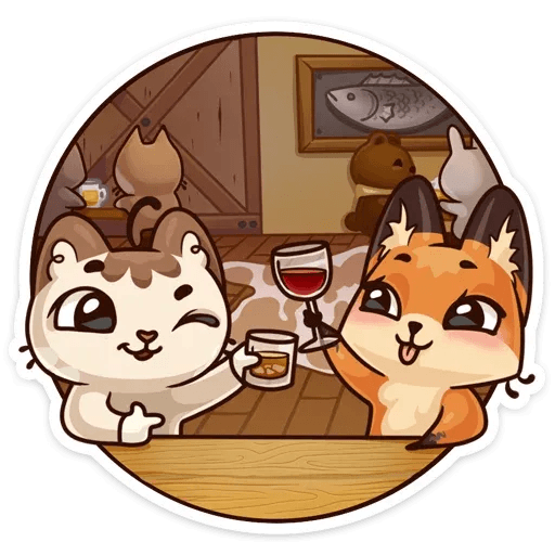 Luna the fox - Sticker 15