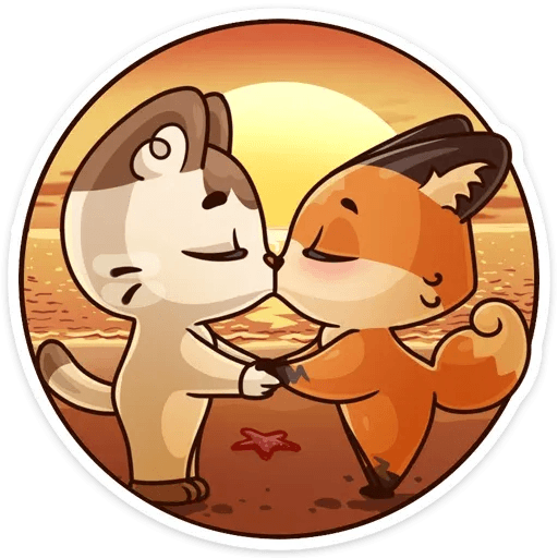 Luna the fox - Sticker 14