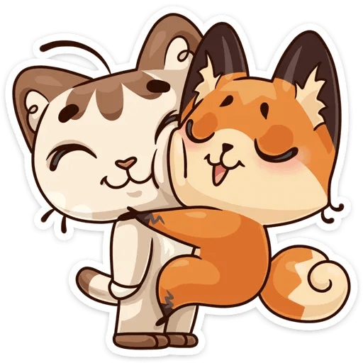 Luna the fox - Sticker 7