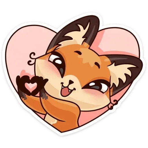 Luna the fox - Sticker 29