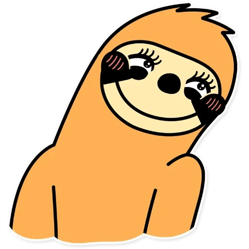 Perezoso 1 - Sticker 7
