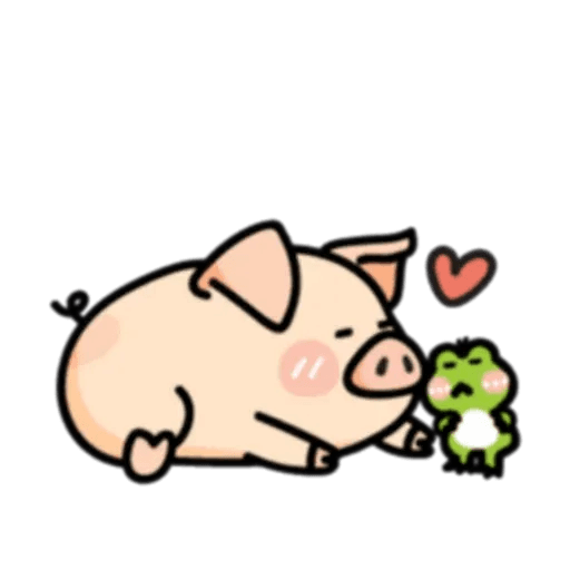 PigPig&GuaGua 2 - Sticker 3