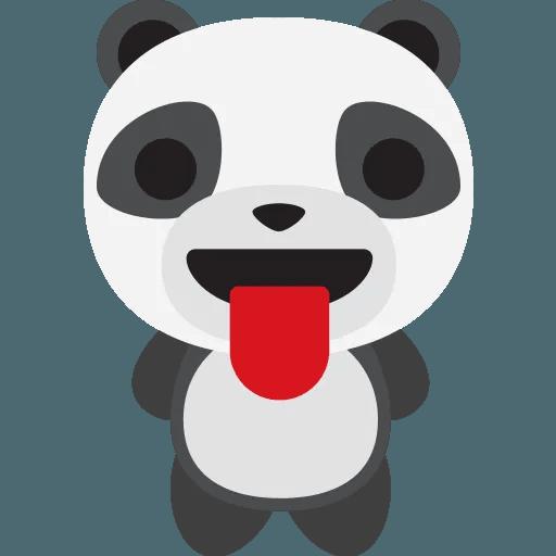 Panda - Tray Sticker