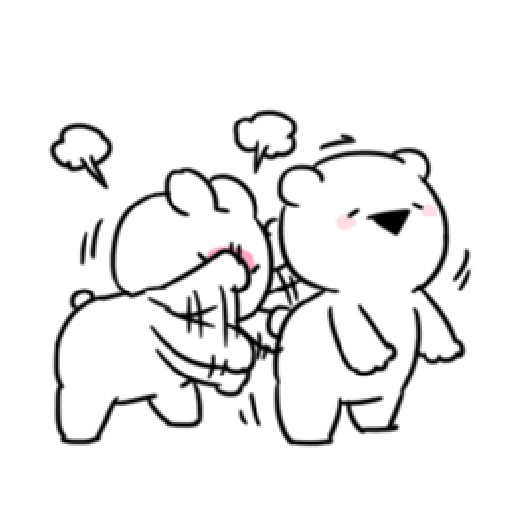 Extremely little rabbit & bear 2 - Sticker 15