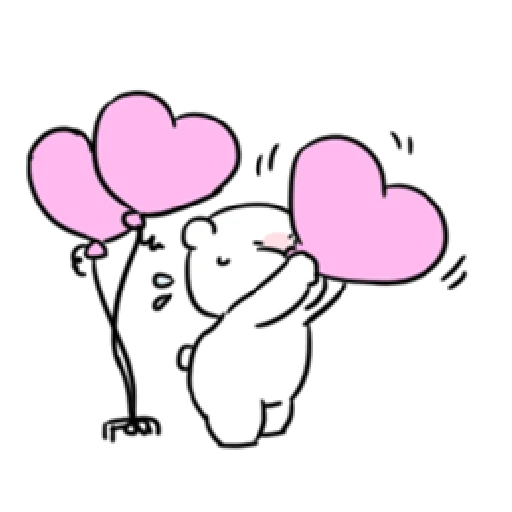 Extremely little rabbit & bear 2 - Sticker 11