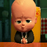 Bossbaby - Tray Sticker