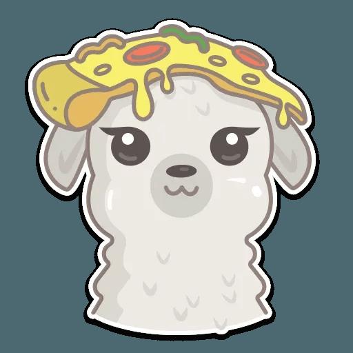Cute lama - Sticker 11