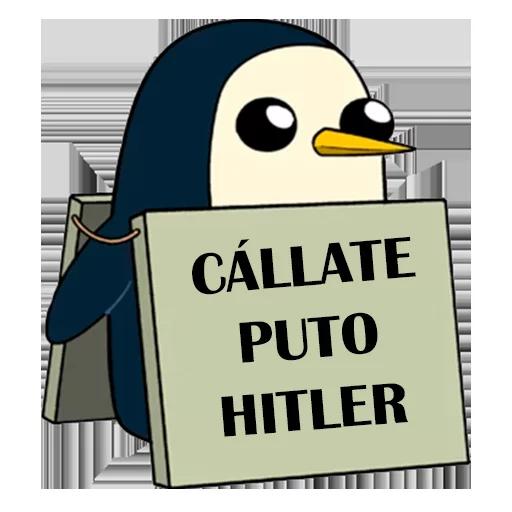 Pingüinos Garcy99 2 - Tray Sticker