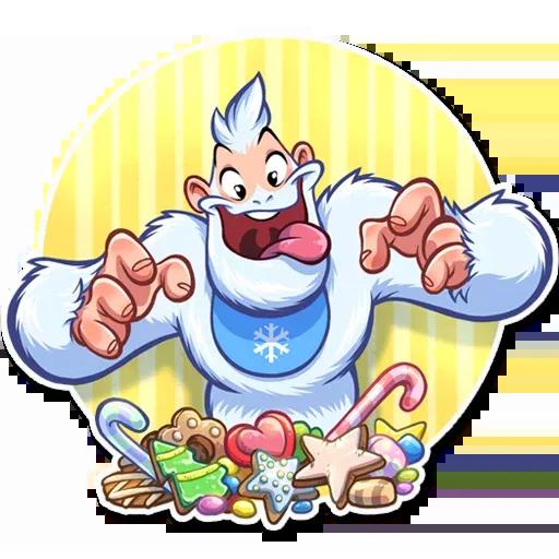 Bigfoot Eddie - Sticker 26