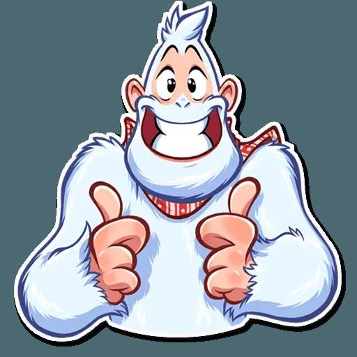 Bigfoot Eddie - Sticker 6