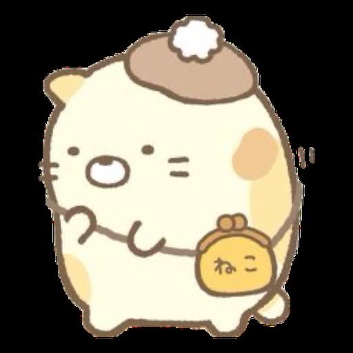 角落生物 - 貓貓 - Sticker 11