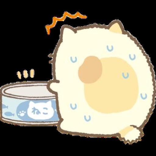 角落生物 - 貓貓 - Sticker 8