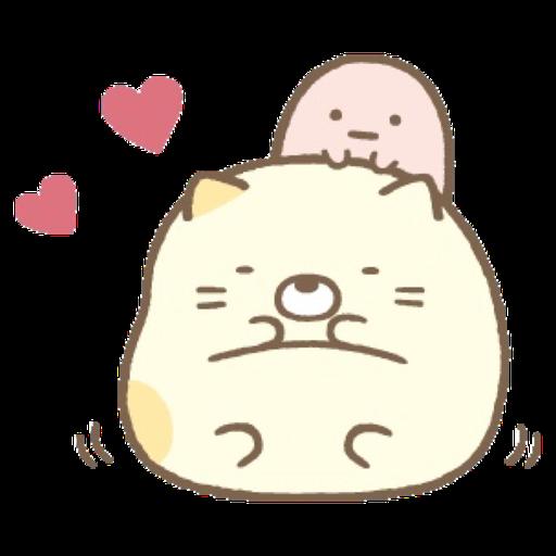 角落生物 - 貓貓 - Sticker 3