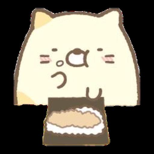 角落生物 - 貓貓 - Sticker 10