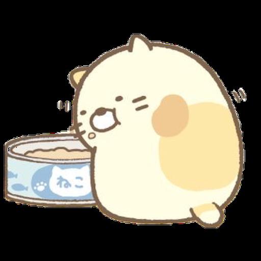 角落生物 - 貓貓 - Sticker 12