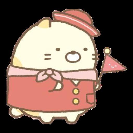 角落生物 - 貓貓 - Sticker 6