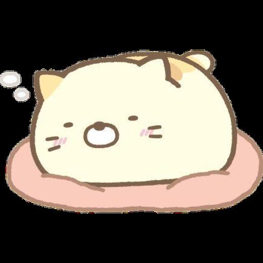 角落生物 - 貓貓 - Sticker 1