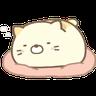角落生物 - 貓貓 - Tray Sticker