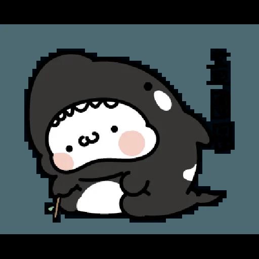 激動小饅頭 鯊鯊來襲 - Sticker 15