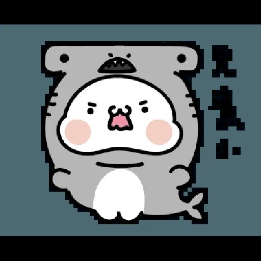 激動小饅頭 鯊鯊來襲 - Sticker 17