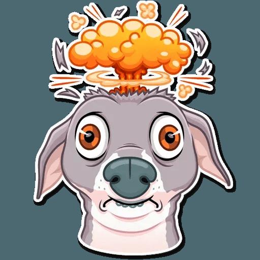 Kermit The Dog - Sticker 25