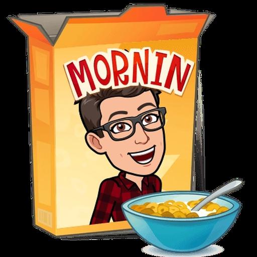 Good morning - Sticker 6