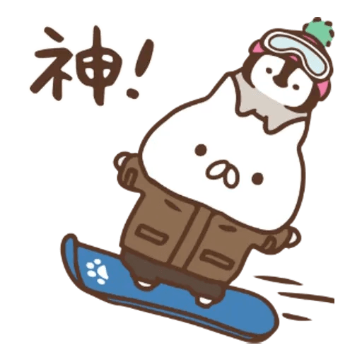 PenguinandCatDaysUNIQLO - Sticker 4