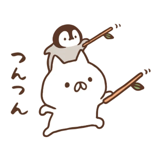 PenguinandCatDaysUNIQLO - Sticker 16