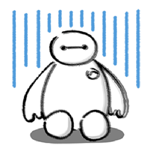 ベイマックス ポップアップスタンプ - Sticker 7