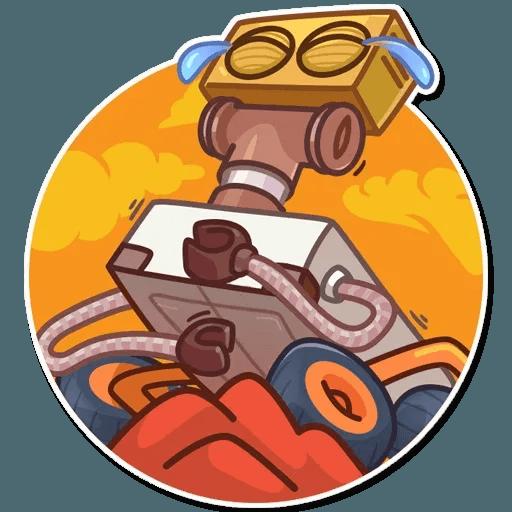 Oppy - Tray Sticker