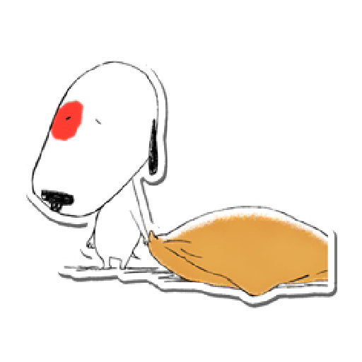 Nata and dog - Sticker 20