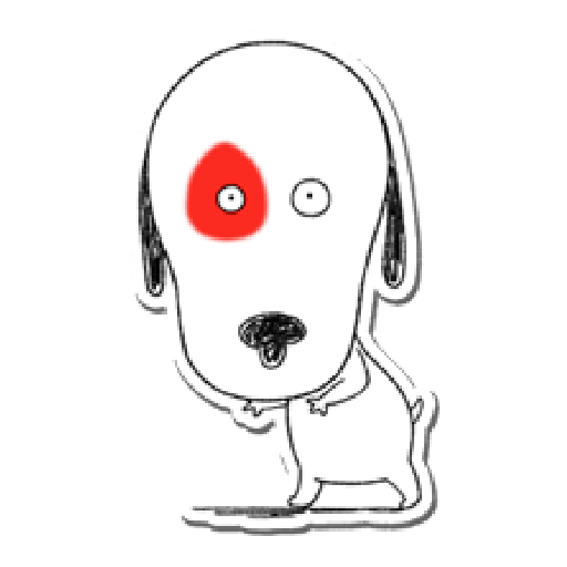 Nata and dog - Sticker 12