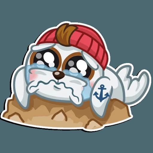 Seal Nico - Sticker 5